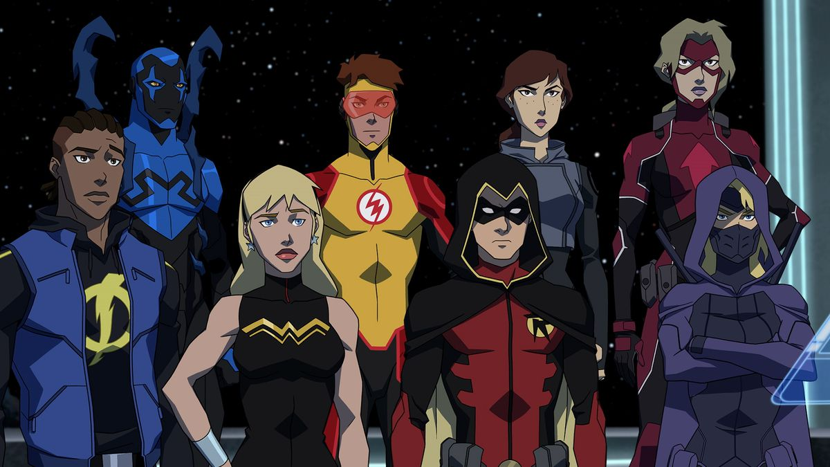 The new Young Justice has grown up alongside its heroes
