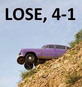 lose 4-1 (cliff)