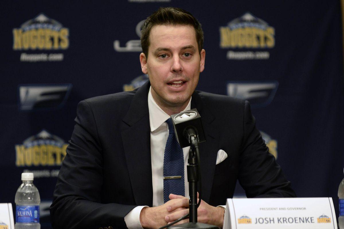 NBA: Denver Nuggets-Press Conference