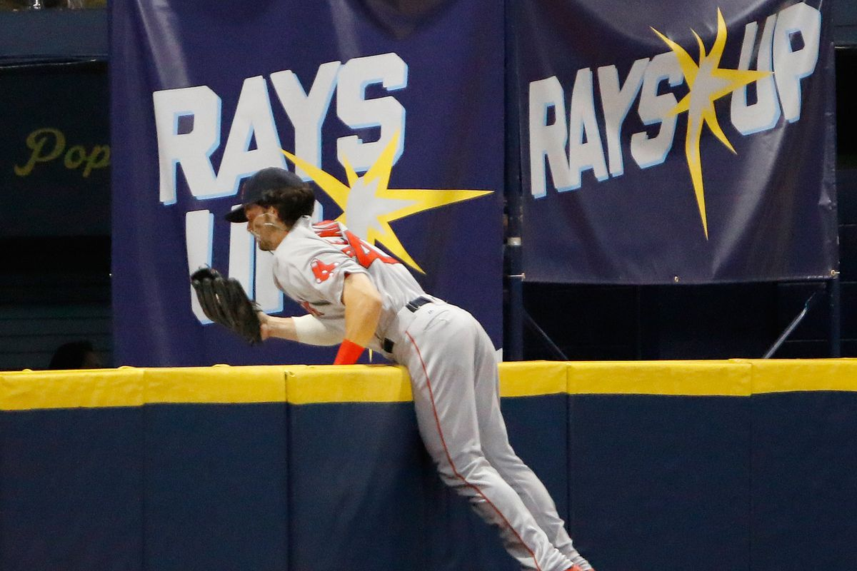Boston Red Sox and the Tampa Bay Rays