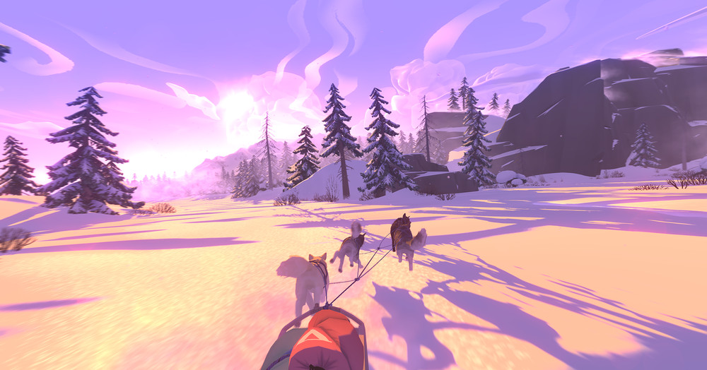 The Red Lantern combines dog-sledding with FTL, and is coming to Switch