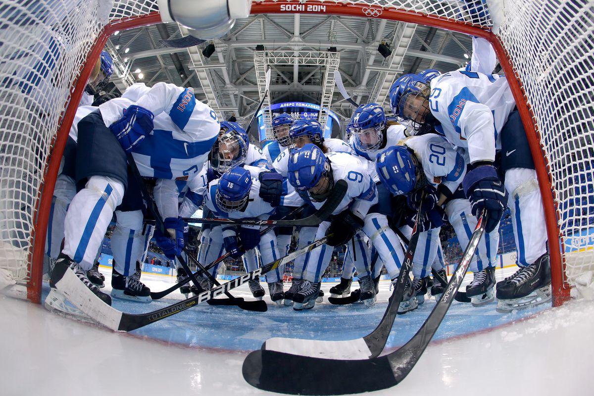 Ice Hockey - Winter Olympics Day 11 - Finland v Russia