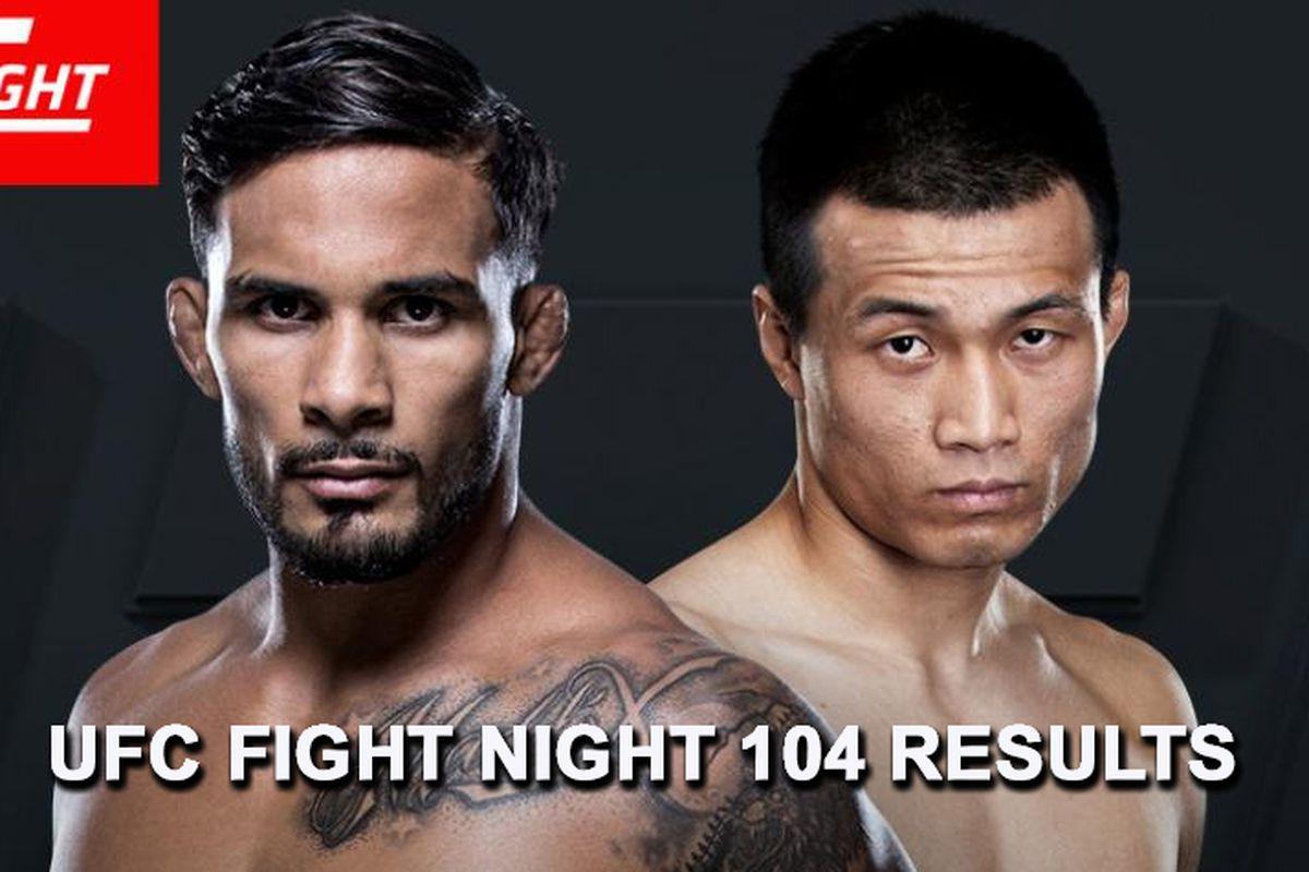 UFC Fight Night 104 live resul...
