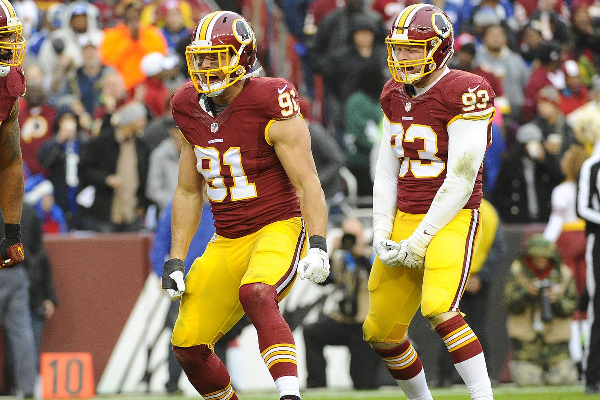 a4d4bcb3c Daily Slop  Redskins want NFL to ditch  garish uniforms  on Thursdays  Redskins  add another big receiving target in Brian Quick