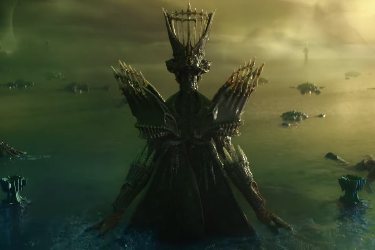 Savathun, the Witch Queen, in a teaser for Destiny 2's new expansion