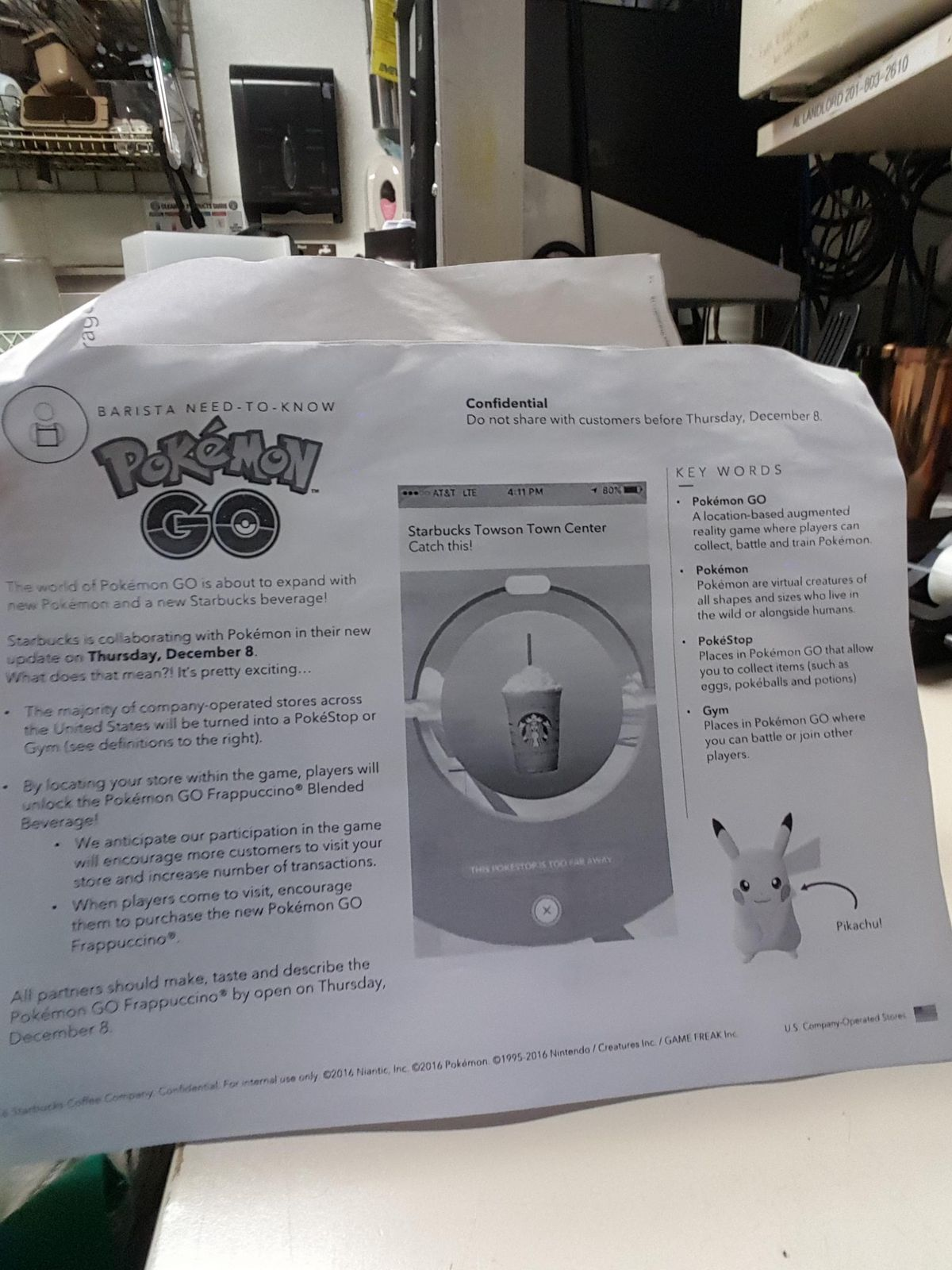 Pokémon Go leaks point to big Starbucks event in the works