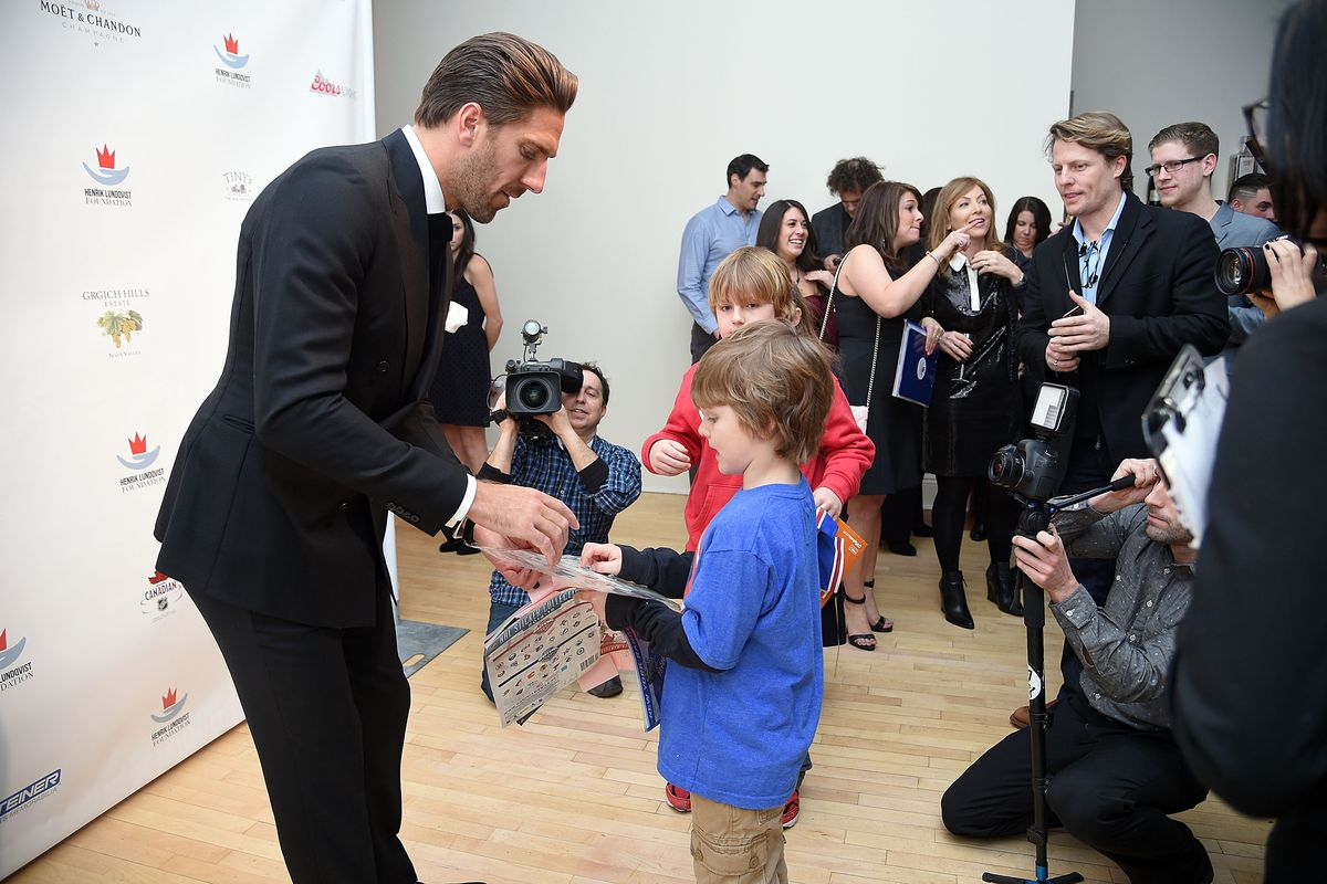 An Evening 'Behind The Mask' With The Henrik Lundqvist Foundation