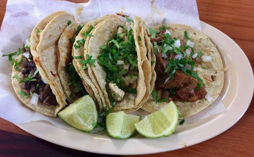 Tacos from Mercado Acapulco Y Taqueria on Cheshire Bridge Road, Atlanta
