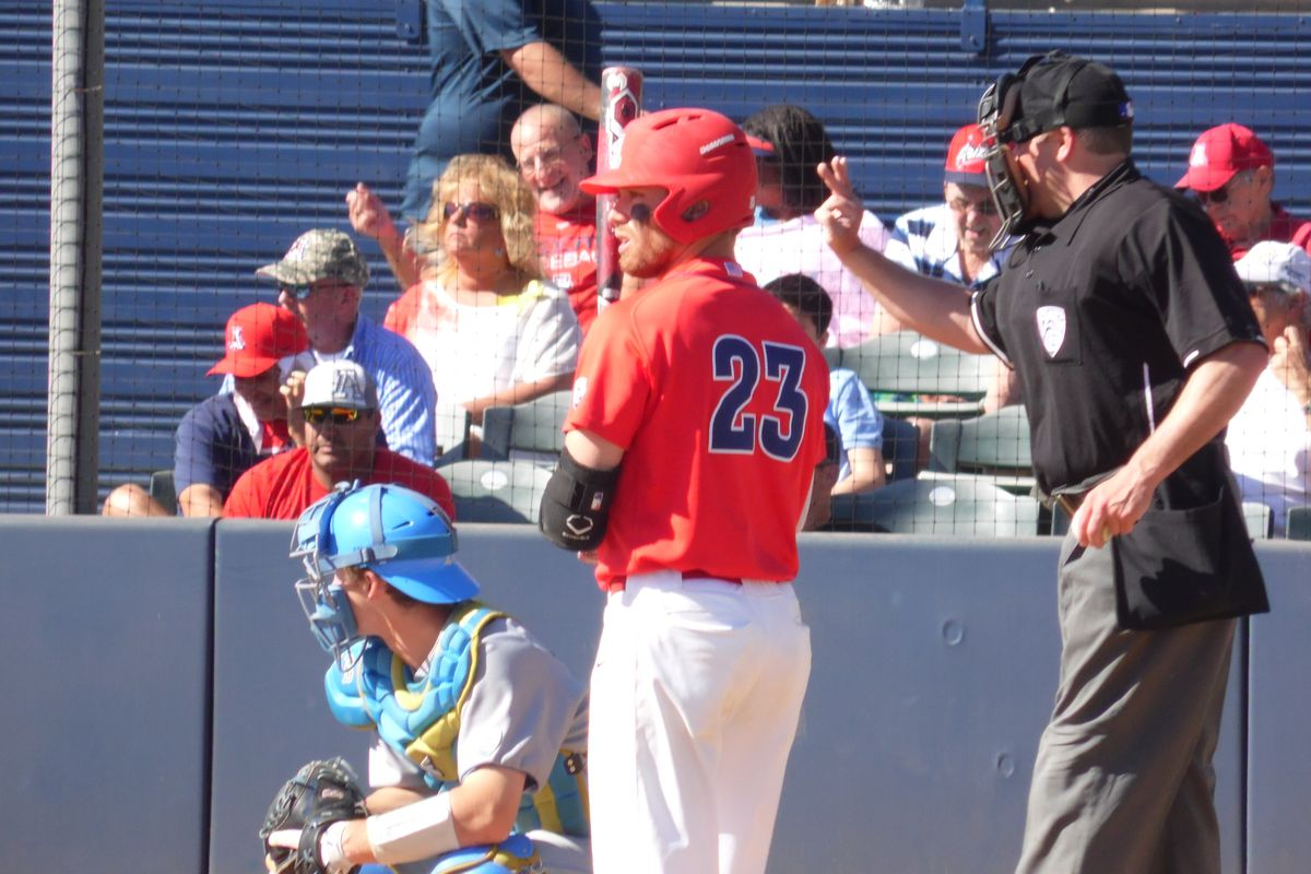 Zach Gibbons is in the hunt for the Pac-12 batting crown after another big weekend at the plate