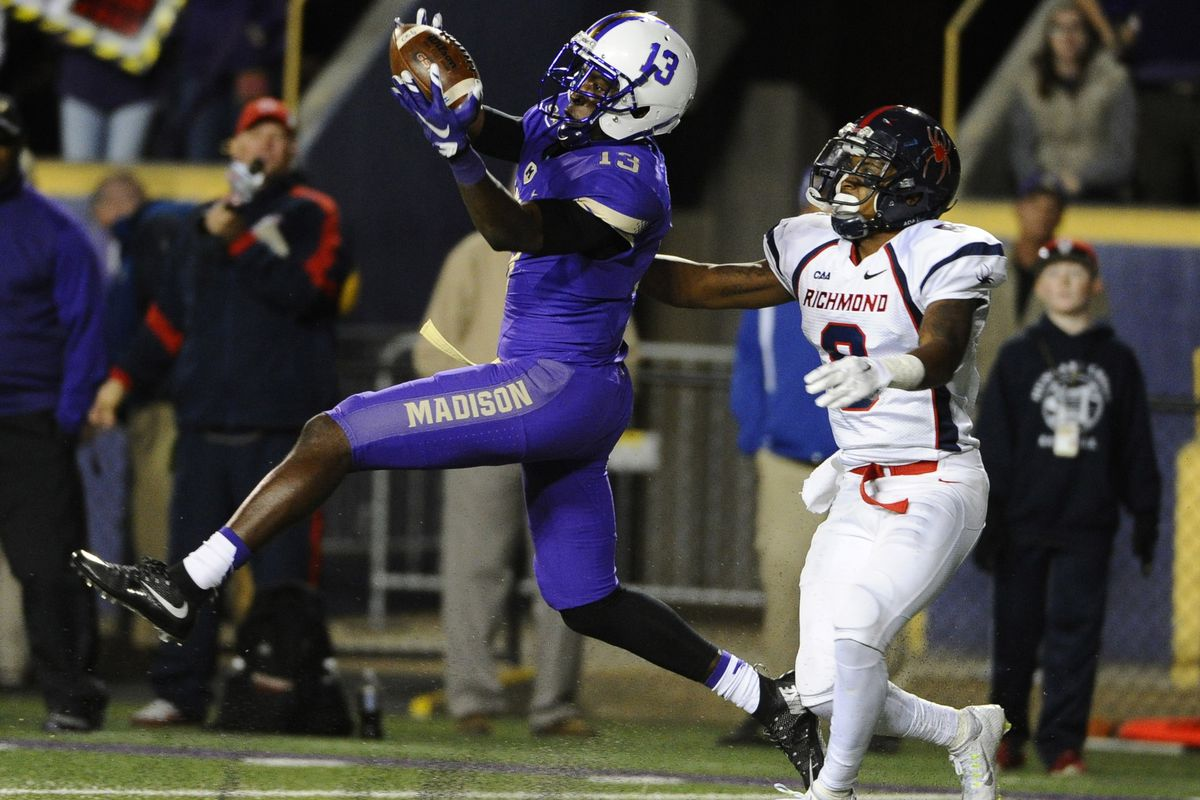 NCAA Football: Richmond at James Madison
