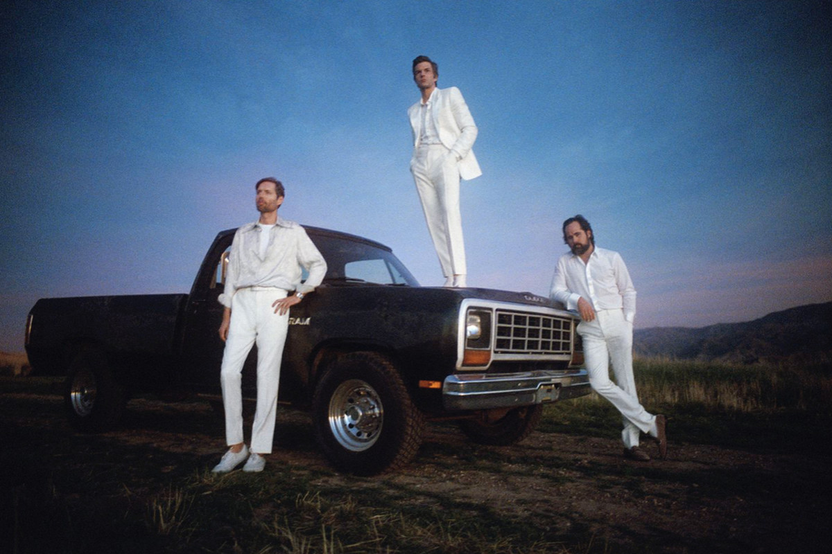 A photo of The Killers.