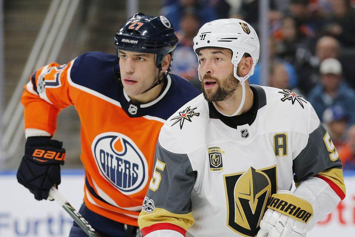 NHL: Vegas Golden Knights at Edmonton Oilers