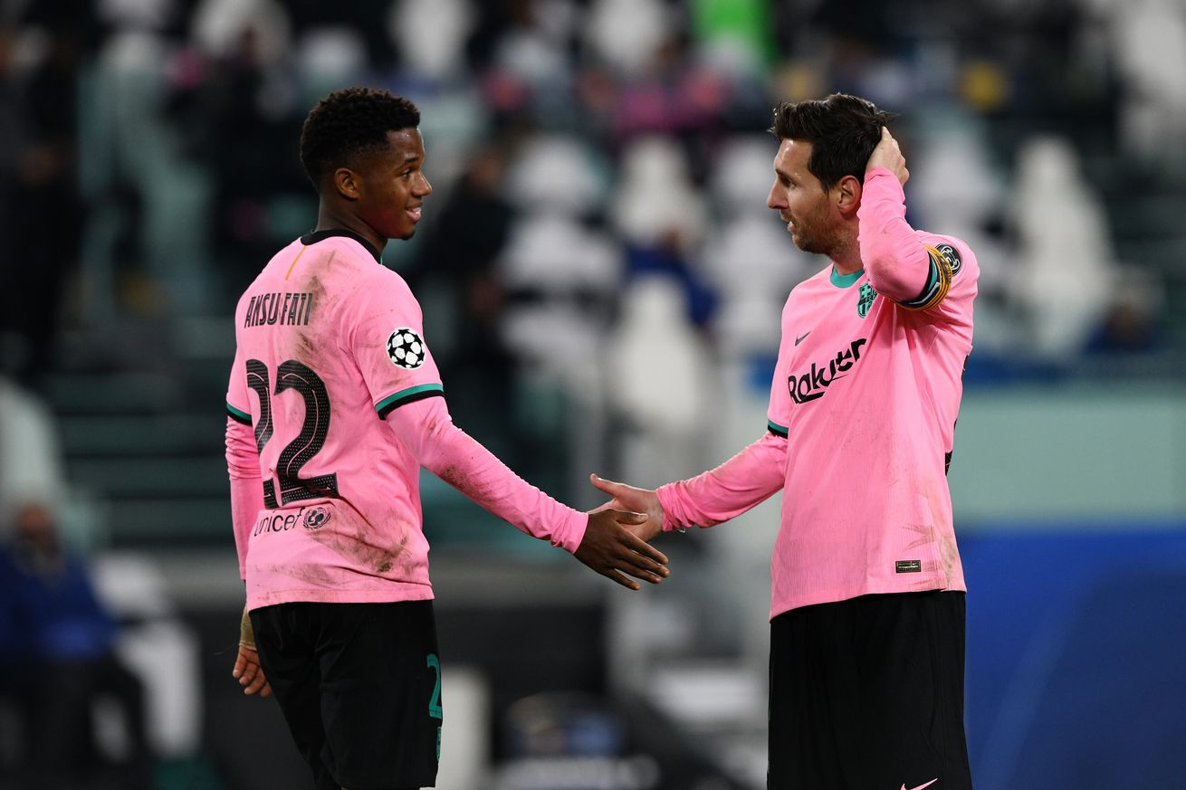 Five talking points from Juventus 0-2 Barcelona