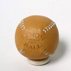 "For the nostalgic sports fan: Lemon Ball Baseball, <a href=""http://generalquartersstore.com/products/lemon-ball-baseball-1"">$38</a> at General Quarters"