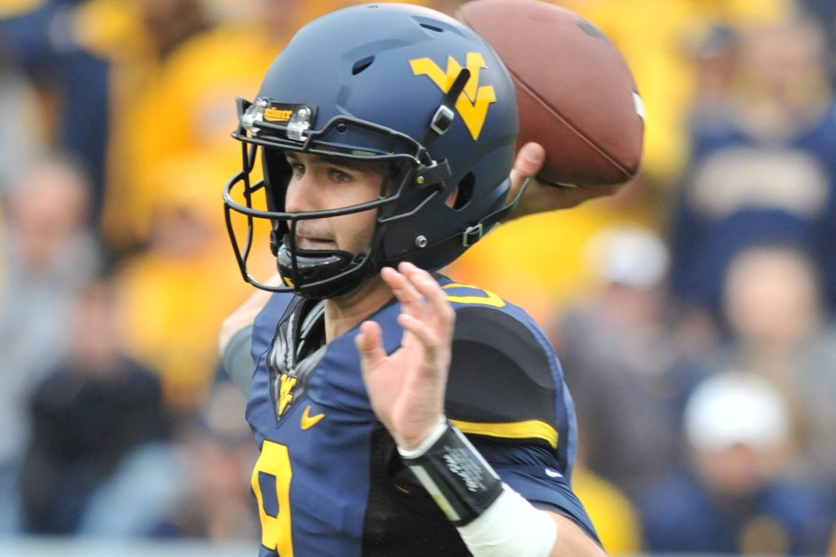 Clint Trickett is always smiling