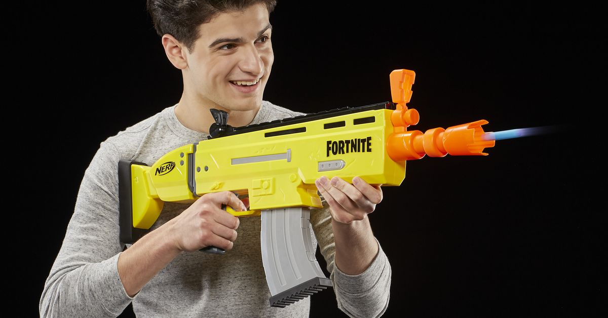 Fortnite's Nerf and Super Soaker blasters are here, ready for pre-order