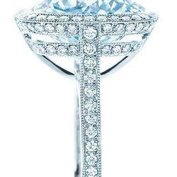 Tiffany Cushion-Cut Diamond Ring: $1,800,000