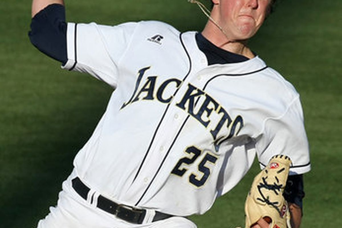 Deck McGuire led the Yellow Jackets to the first of three dominating victories.