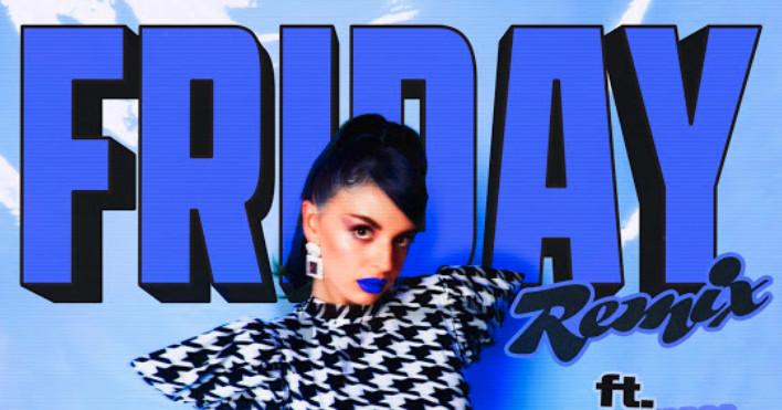Rebecca Black lanza el remix del décimo aniversario del viernes ... un miércoles