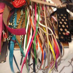 Skinny belts, $50