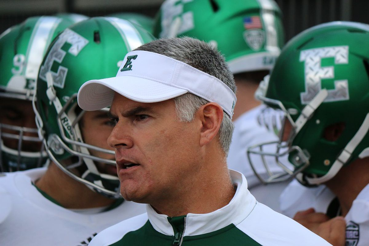 Eastern Michigan Football Vs Bowling Green in Pictures