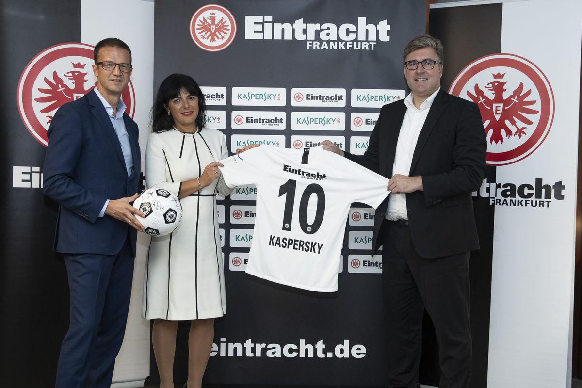 Kaspersky Lab Announces Sponsorship Of Eintracht Frankfurt