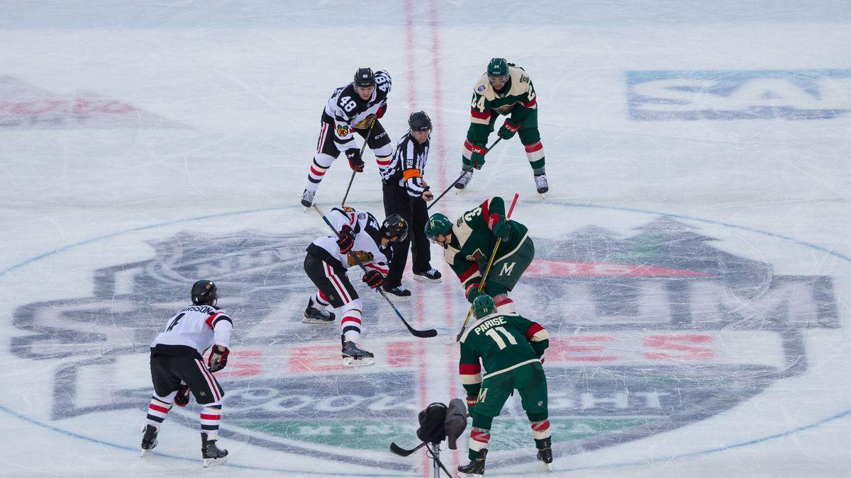 NHL: Stadium Series-Chicago Blackhawks at Minnesota Wild