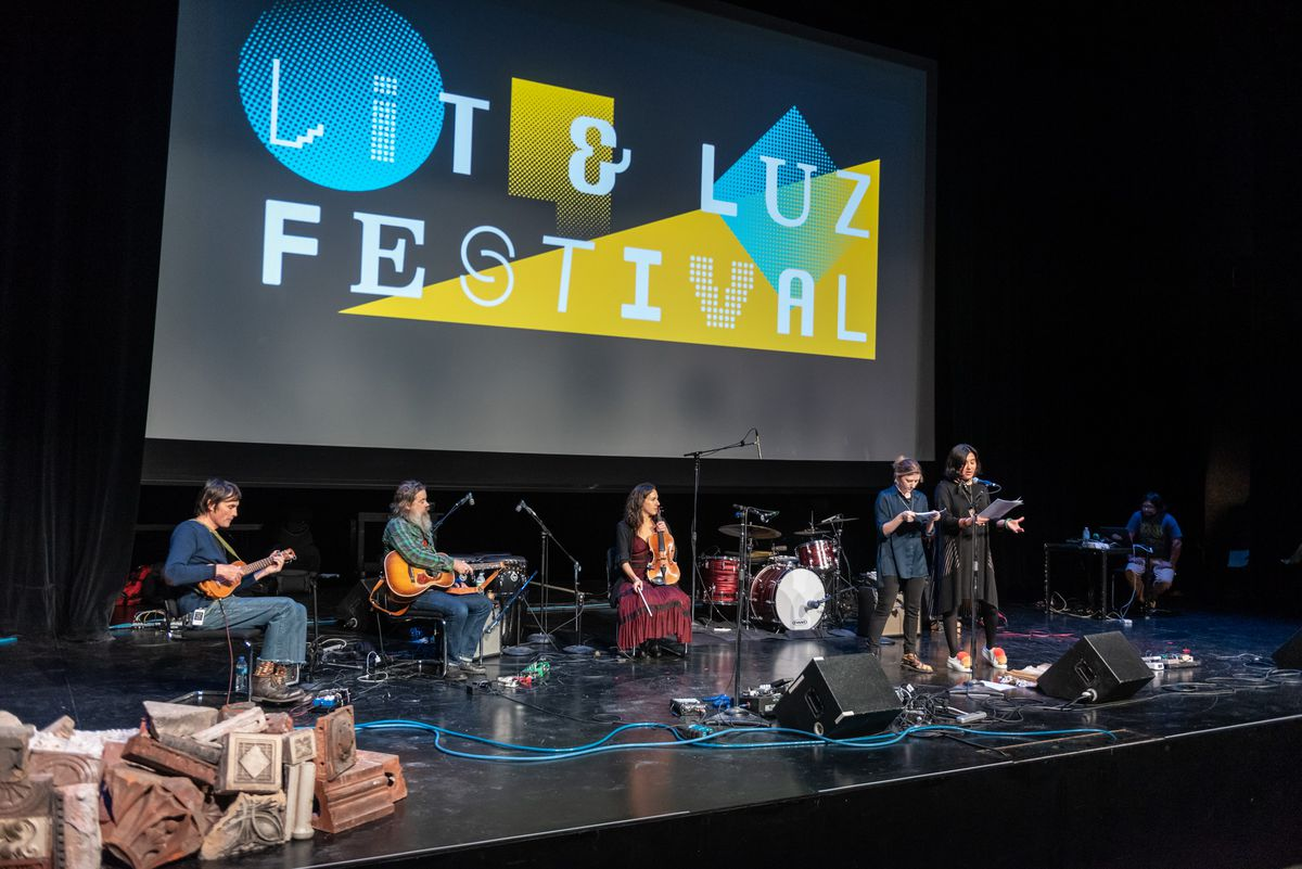 The Lit & Luz Festival gets under way at the MCA in 2018.