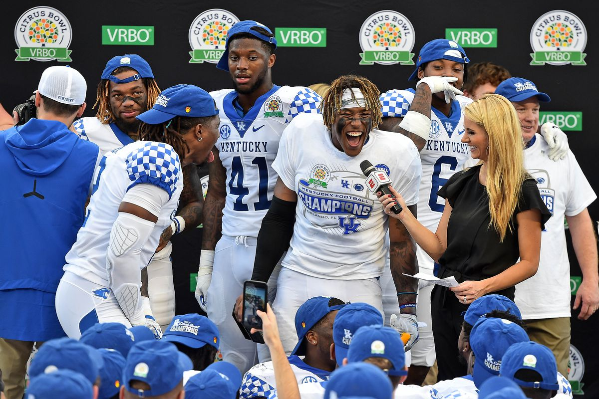 Kentucky Wildcats Football The 10 Best Moments Of The Past
