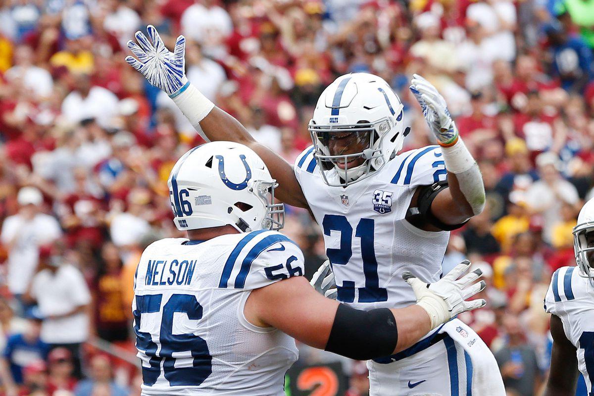 NFL: Indianapolis Colts at Washington Redskins
