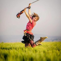 Rock-star violinist Lindsey Stirling has overcome an eating disorder and critics to find spiritual happiness and success in music.