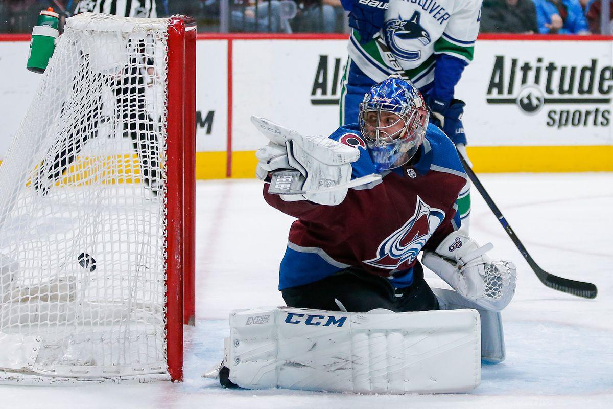NHL: Vancouver Canucks at Colorado Avalanche