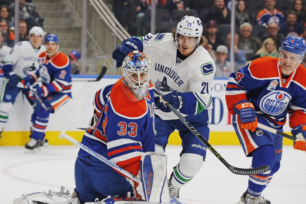 NHL: Preseason-Vancouver Canucks at Edmonton Oilers