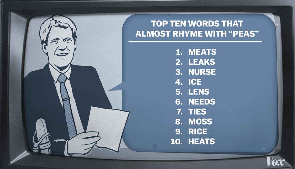 Dave's first big list was a perfect example of his early humor.
