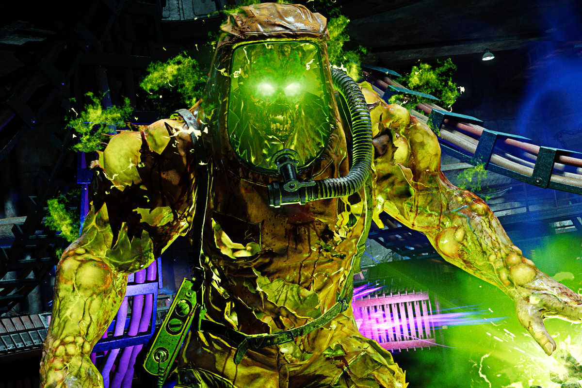 A boss zombie from Call of Duty: Black Ops Cold War