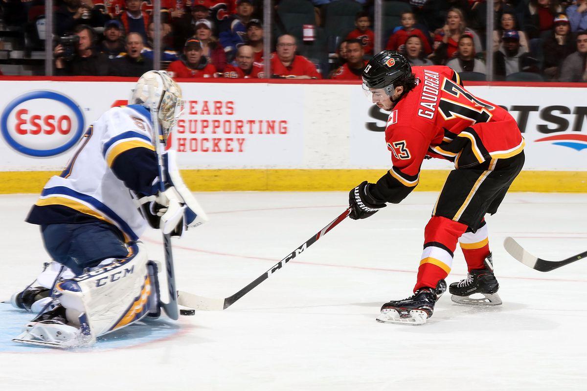 St. Louis Blues v Calgary Flames