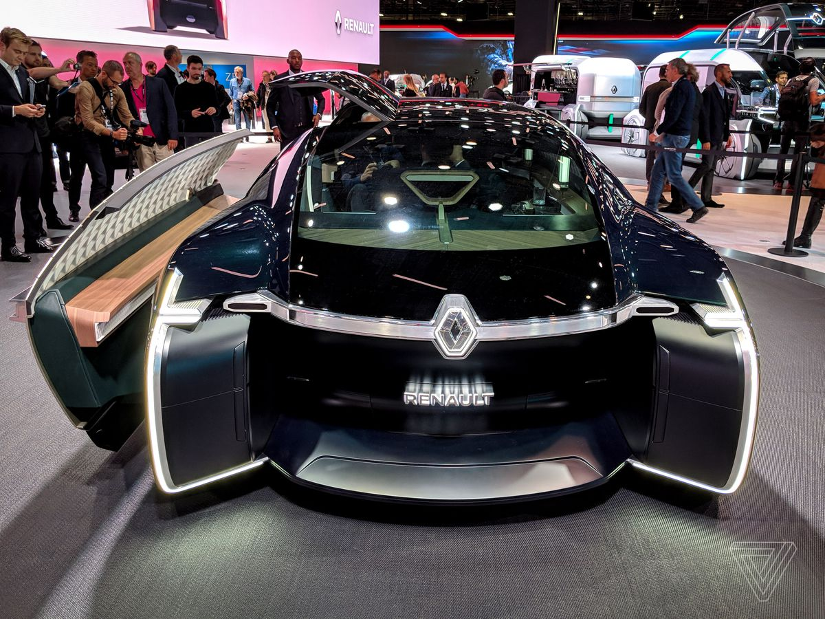 Renault's EZ-Ultimo self-driving concept is a giant slice of ridiculous - The Verge