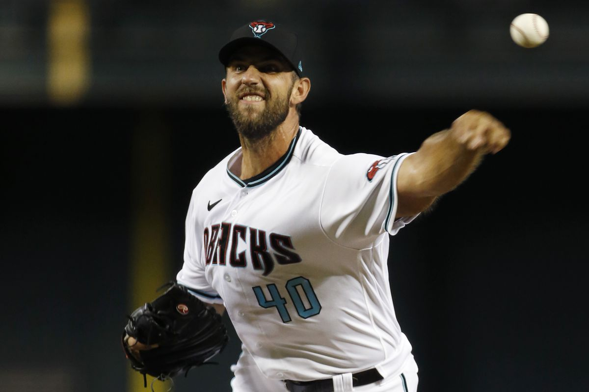 Madison Bumgarner pitched against the Padres.  The Diamondbacks won this game.