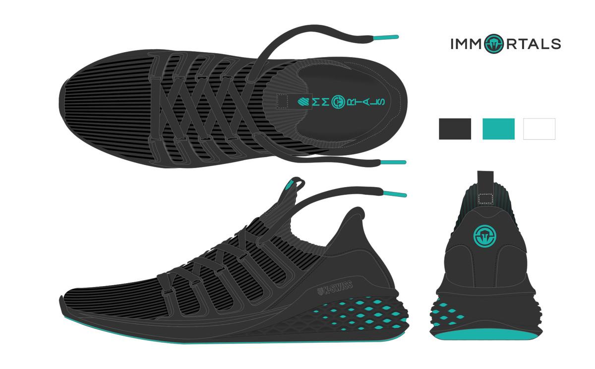 K-Swiss espors shoe