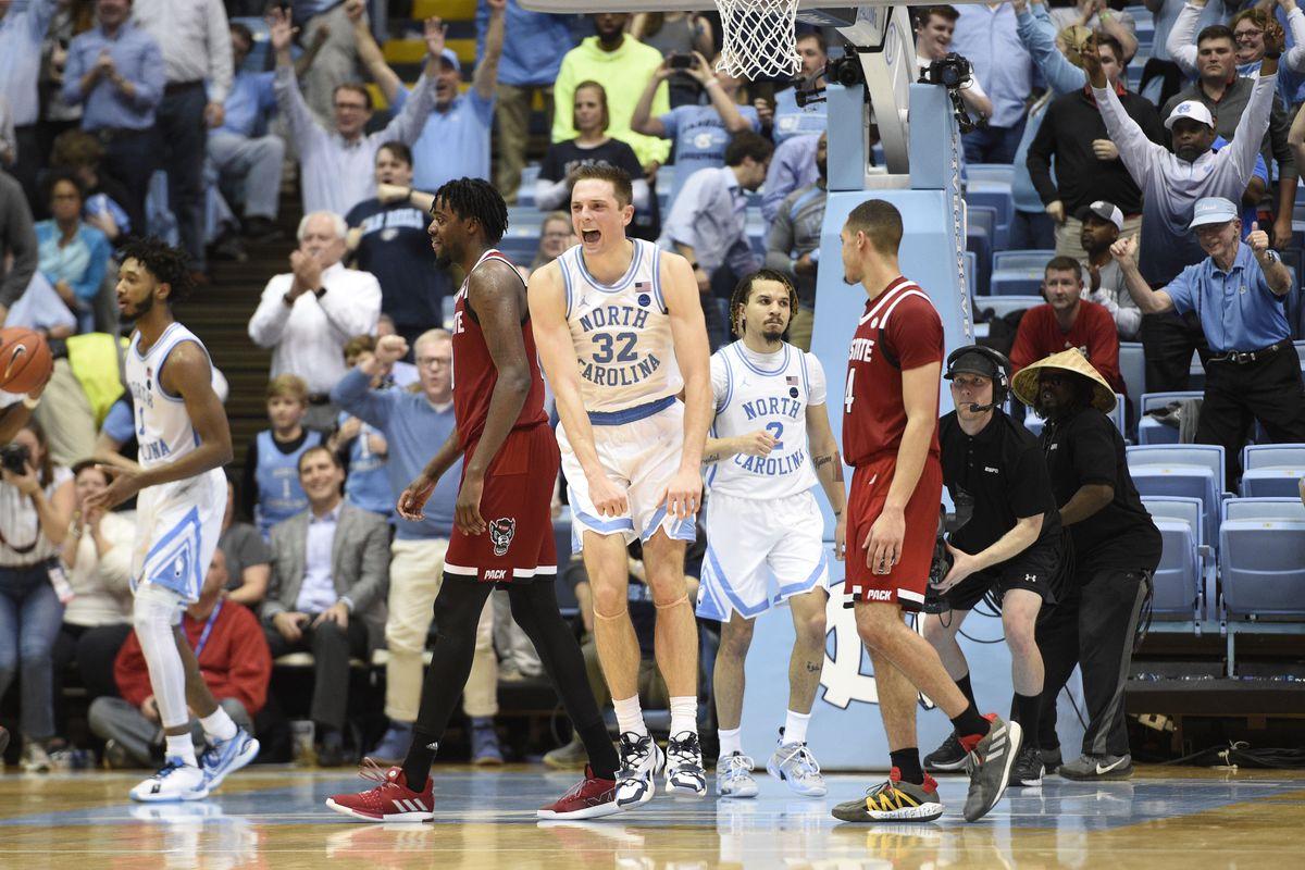 NCAA Basketball: N.C. State at North Carolina