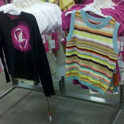 Seriously, the only two pieces of Missoni in the entire Target store.