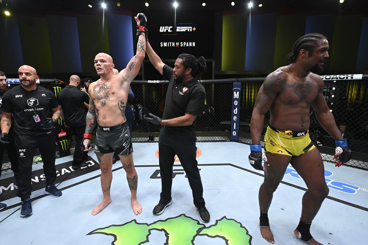 UFC Vegas 37 results: Biggest winners, loser for 'Smith vs Spann' last night  - MMAmania.com