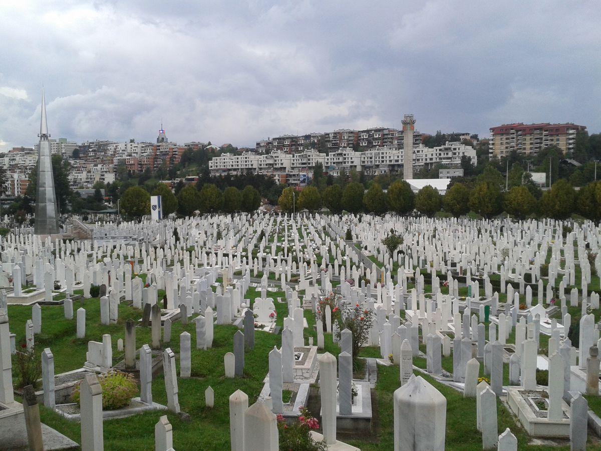 Sarajevo cemetery