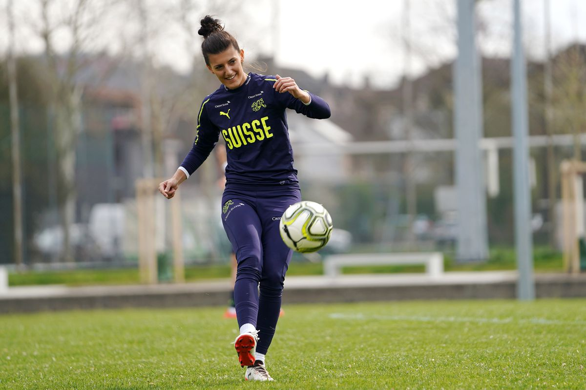 Switzerland Women Training Session