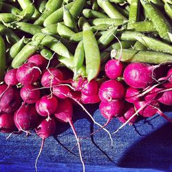 """Veggies at the Farmer's Market. <a href=""""http://www.flickr.com/photos/dlytle/7411290380/in/pool-520531@N21/"""">davitydave</a>"""