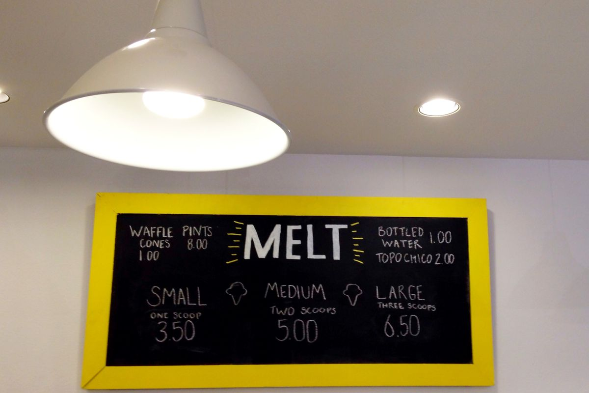 Melt Ice Creams in Fort Worth.