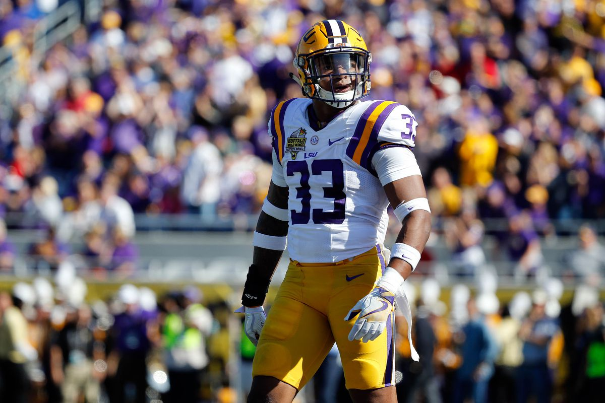 competitive price a8898 c78be The Film Room (2017 NFL Draft): Scouting LSU Safety Jamal ...