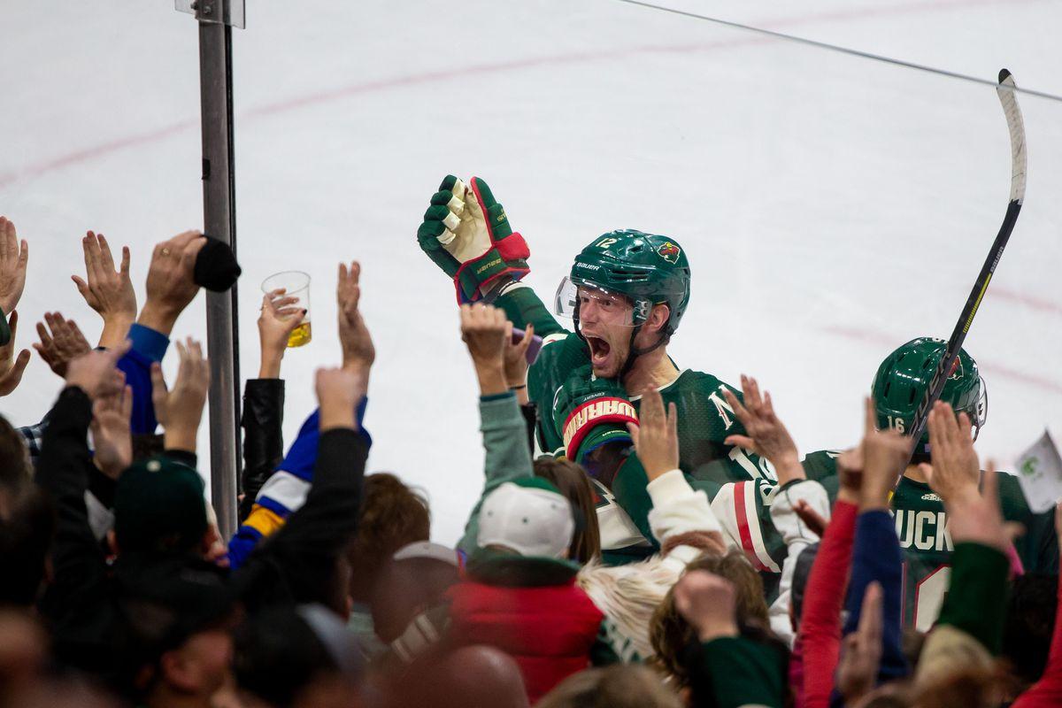 NHL: Winnipeg Jets at Minnesota Wild