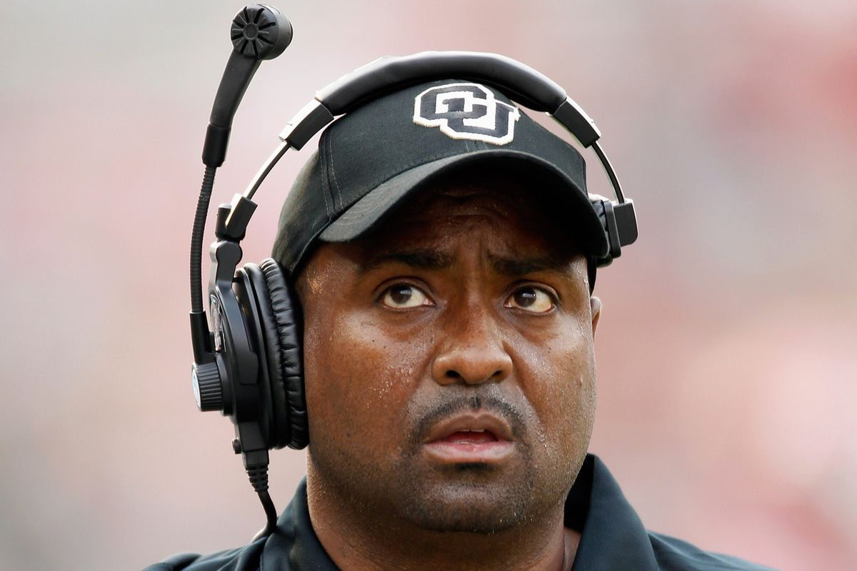 Jon Embree, former head coach of Colorado, will coach the Browns' tight ends.