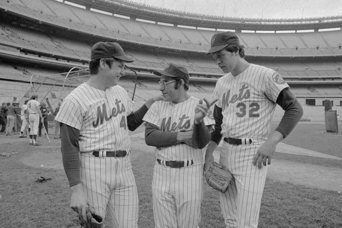 Yogi Berra with Star Pitchers
